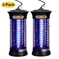 Dormily Bug Zapper Indoor, Electric Mosquito Killer Lamp Insect Trap Fruit Fly Zapper for Home Kitchen | Bedroom | Office Mosquito Trap Plug in