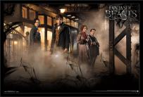 Trends International Wall Poster Fantastic Beasts and Where to Find Them Teaser, 22.375 x 34