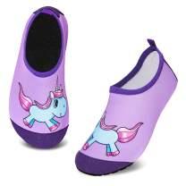 HMIYA Toddler Kids Water Shoes Swim Pool Shoes Non Slip Barefoot Quick Dry Aqua Socks for Boys Girls