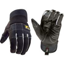 Men's FX3 Extreme Dexterity Slip-On All-Purpose Work Gloves, Touchscreen, Extra Large (Wells Lamont 7851)