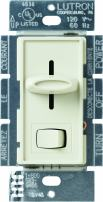 Lutron Skylark 3-Way Dimmer for Incandescent/Halogen Bulbs with On/Off Switch, 600-Watt, S-603P-AL, Almond