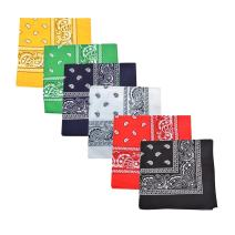 10 Pack Mechaly Dog Bandana Neck Scarf Paisley 100% Cotton Double Sided Bandanas - Any Pets
