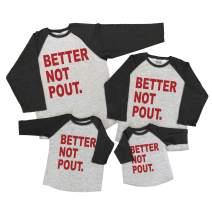7 ate 9 Apparel Matching Family Christmas Shirts - Funny Holiday Grey Shirt