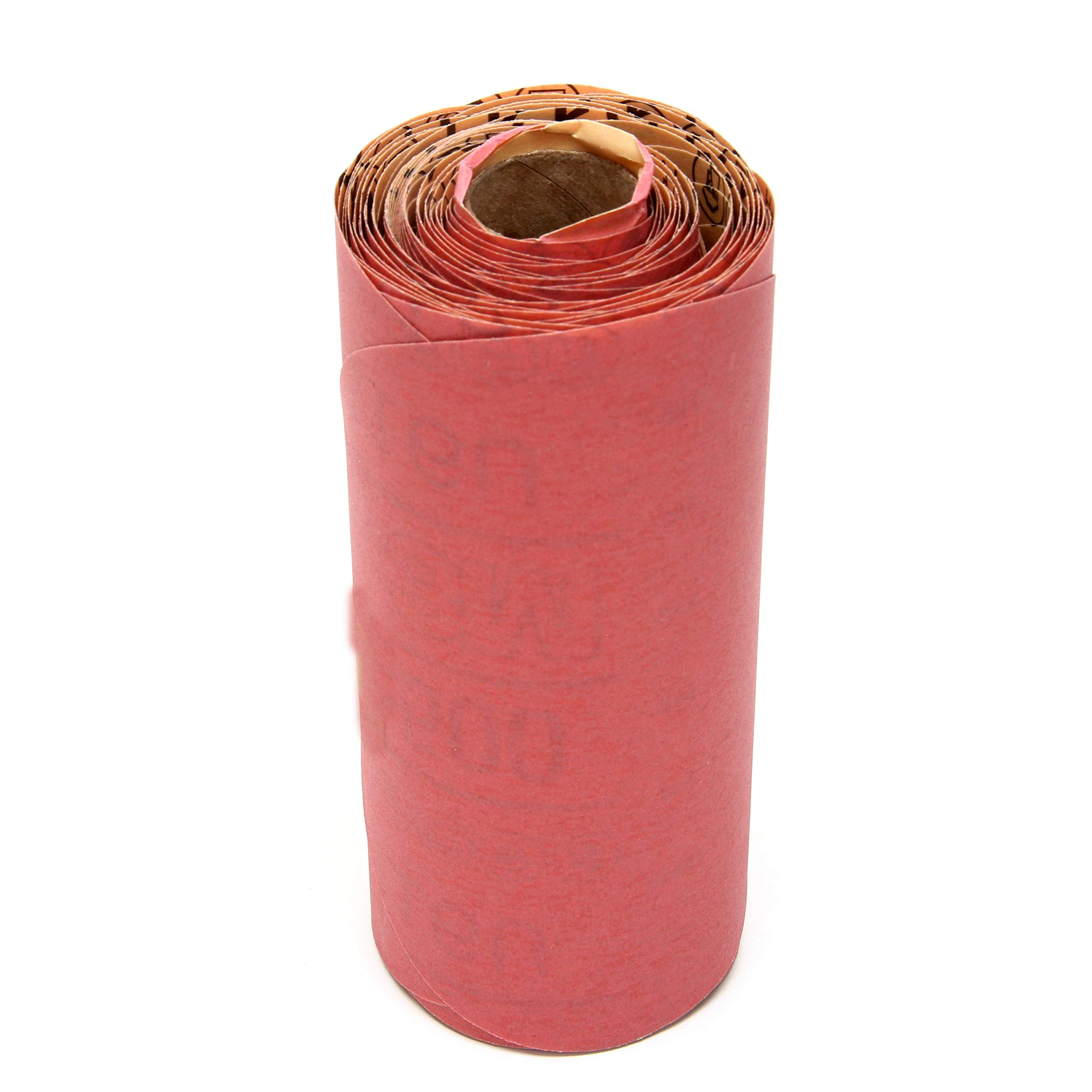 3M Red Abrasive Stikit Disc, 01107, 6 in, P500 grade, 100 discs per roll