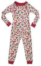 Brian the Pekingese Organic Cotton Christmas Pajamas, Boys & Girls Sleepwear, Made in USA