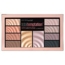 Maybelline Total Temptation Eyeshadow + Highlight Palette, 0.42 oz.