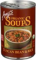 Amy's Organic Soup Tuscan Bean & Rice -- 14.1 fl oz