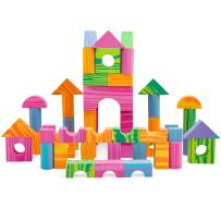 Morvat Foam Building Block Set- 60 Piece Soft Multi-Colored Building Blocks Sets Educational Stacking Blocks, Foam Building Blocks for Kids, Non-Toxic &BPA Free -Great Bath Toys for Babies & Toddlers