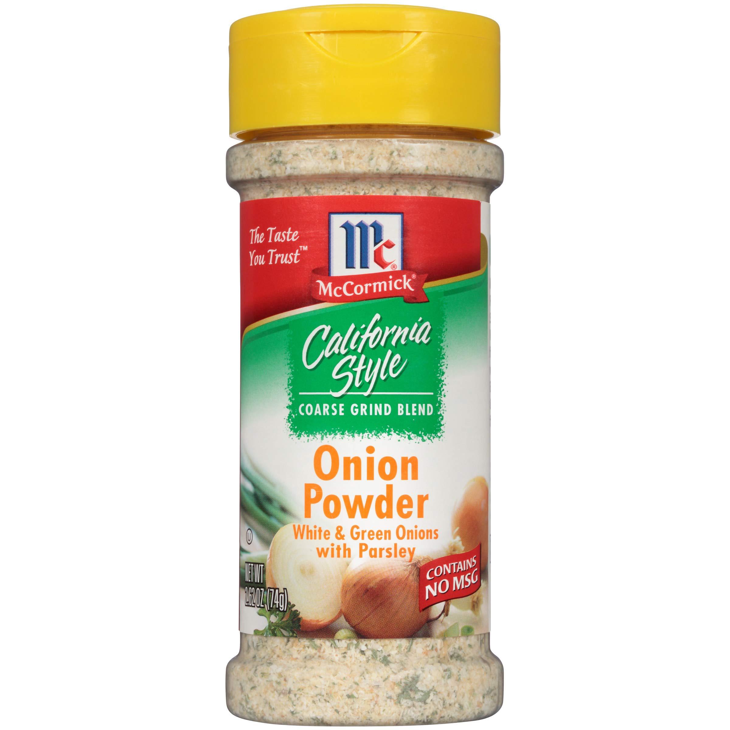 McCormick California Style Onion Powder, 2.62 oz