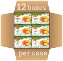 Kosher Mre Meat Meals Ready to Eat, Matzah Ball Chicken Soup & Vegetables (12 Pack) - Prepared Entree Fully Cooked, Shelf Stable Microwave Dinner – Travel, Military, Camping, Emergency Survival Food