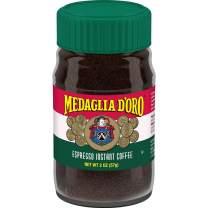MEDAGLIA D'ORO Medaglia D'Oro Instant Espresso Coffee, 2 Ounces (Pack of 12) (452410-00091)