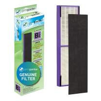 Germ Guardian FLT4850PT True HEPA GENUINE Air Purifier Replacement Filter B, with Pet Pure Treatment for GermGuardian AqewqC4900, AC4825, AC4850PT, CDAP4500, AC4300, and More