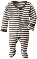 L'ovedbaby Girls' Unisex-Baby Organic Cotton Footed Overall