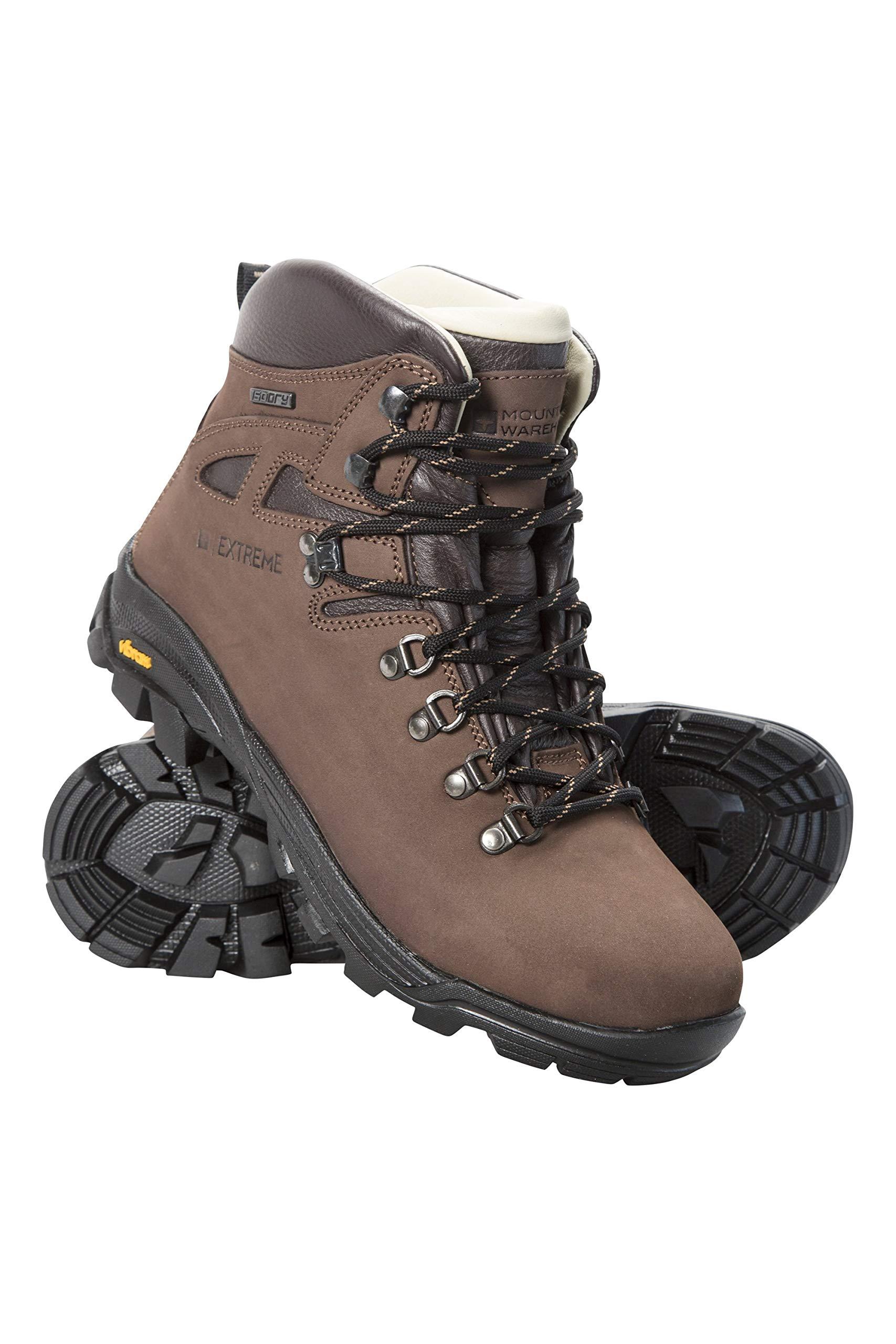Mountain Warehouse Excalibur Womens Hiking Boots -Vibram Walking Shoe