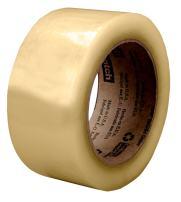 Scotch Recycled Corrugate Box Sealing Tape 3071, Clear, 72 mm x 100 m, 24 per case