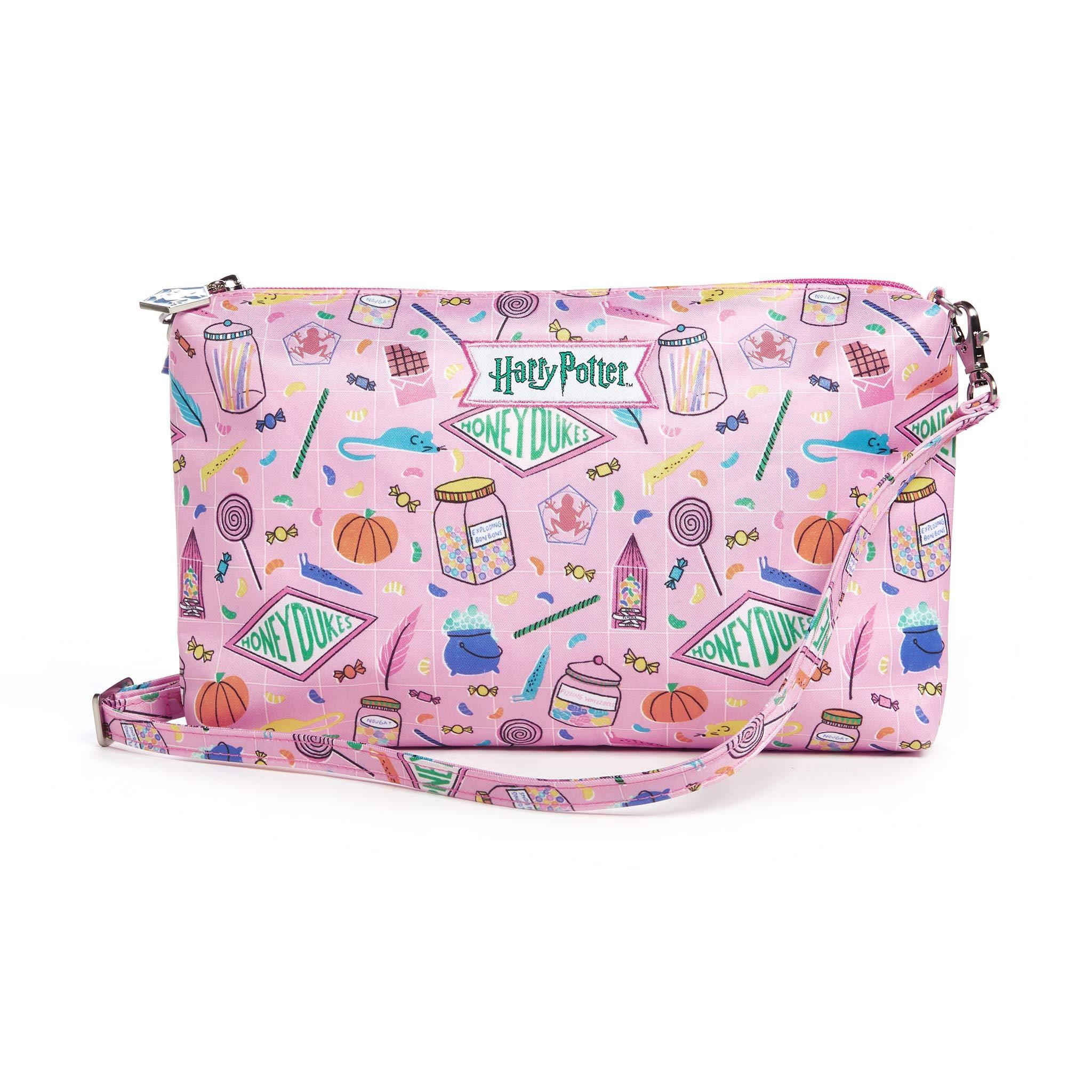 JuJuBe x Harry Potter Diaper Bag Organizer, Be Quick   Wristlet + Travel Pouch for Purse, Bag Organization, Storage (Honeydukes)