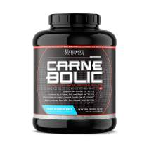 Ultimate Nutrition Carnebolic Zero Carb Paleo Protein Isolate Powder - Lactose Free Protein for Carnivores and Keto Diets - Great Tasting, Gluten Free, Blue Raspberry, 60 Servings