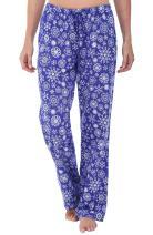 Alexander Del Rossa Women's Flannel Pajama Pants, Long Winter Christmas Cotton Pj Bottoms