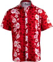 Meats in The Sun | Funny BBQ Grilling Hawaiian Button Down Polo Party Shirt Men
