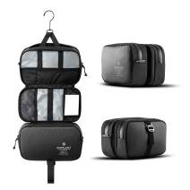 HEIMPLANET Original | Monolith Dopp Kit - Hanging Toiletry Bag | Pvc-Free Travel Wash Bag | Now Listed At Moma Design Store