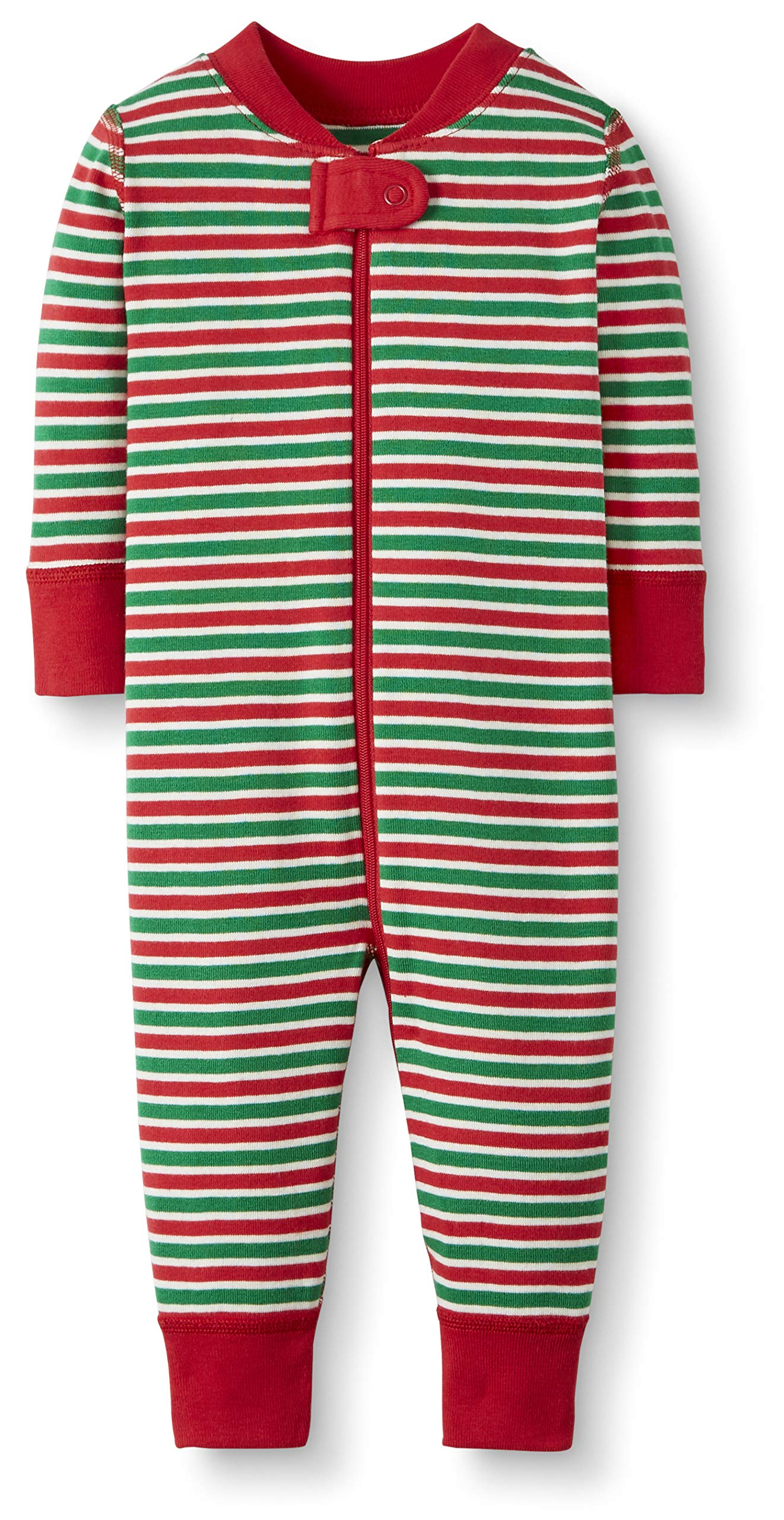 Moon and Back by Hanna Andersson Baby/Toddler Boys' and Girls' One-Piece Organic Cotton Footless Pajamas