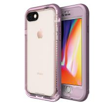 LifeProof NÜÜD Series Waterproof Case for iPhone 8 (ONLY) - Retail Packaging - Morning Glory (WHINSOME Orchid/Smoky Grape)