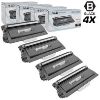 LD Compatible Toner Cartridge Replacement for Brother TN720 (Black, 4-Pack)