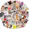 160 PCS Fun Pet Cat and Dog Vinyl Stickers Pack Waterproof Decals for Water Bottle Laptop Phone Case Scrapbook Skateboard Luggage Party Favors