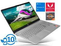 "HP 15 Laptop, 15.6"" HD Touch Display, AMD Ryzen 7 3700U Upto 4.0GHz, 12GB RAM, 1TB NVMe SSD, Vega 10, HDMI, Card Reader, Wi-Fi, Bluetooth, Windows 10 Pro"