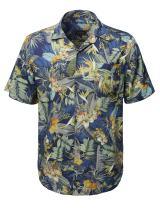 Youstar Men's Casual Hawaiian Print Button Down Short Sleeve Shirt