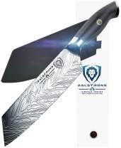 "DALSTRONG - Santoku Knife - 7"" Omega Series - American BD1N-VX - Hyper Steel - w/Sheath"