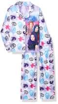 DESCENDANTS Girls' 2-Piece Button Front Pajama Set