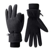 Anqier Ski Gloves, Winter Waterproof Snowboard Snow GLoves for Men Women