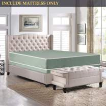 Nutan 8-Inch Firm Double sided Tight top Waterproof Vinyl Innerspring Fully Assembled Mattress, Good For The Back,California King