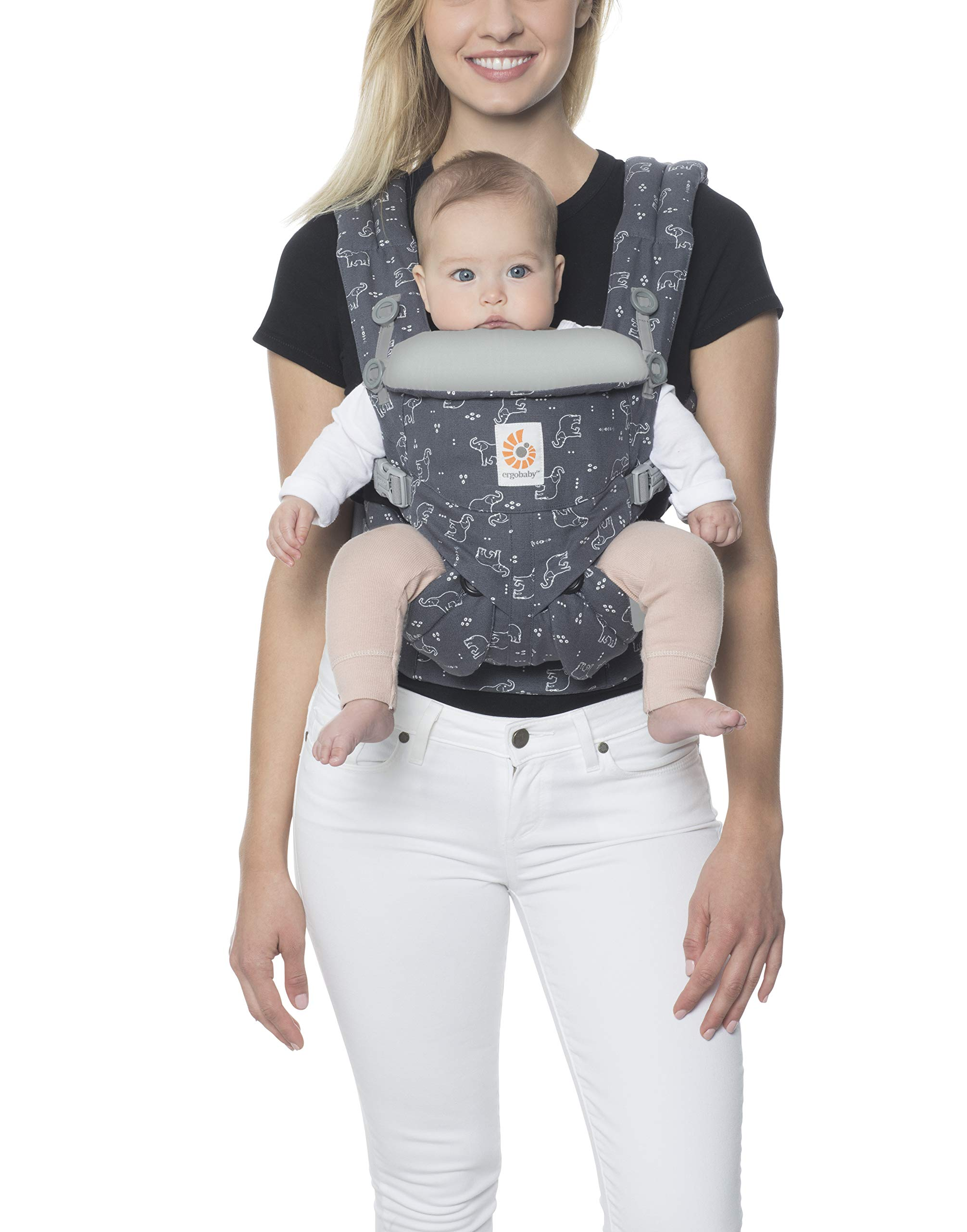 Ergobaby Carrier, Omni 360 All Carry Positions Baby Carrier, Trunks Up