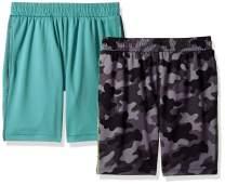 Amazon Brand - Spotted Zebra Boys Active Mesh Basketball Shorts