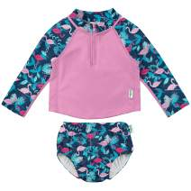 i play. by green sprouts Girls' Two Piece Rashguard Set
