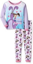 KATE AND MIM MIM Girls' Toddler 2-Piece Cotton Pajama Set