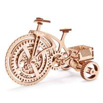 Wood Trick 3D Wooden Bicycle Toy Model - Bicycle Model Kit Mechanical Model to Build - 3D Wooden Puzzle, Assembly Model, ECO Wooden Toys, Best DIY Toy - STEM Toys for Boys and Girls