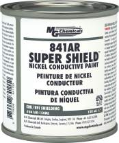 MG Chemicals 841AR-150ML Nickel Super Shield Conductive Coating, 150 mL, Metal Jar