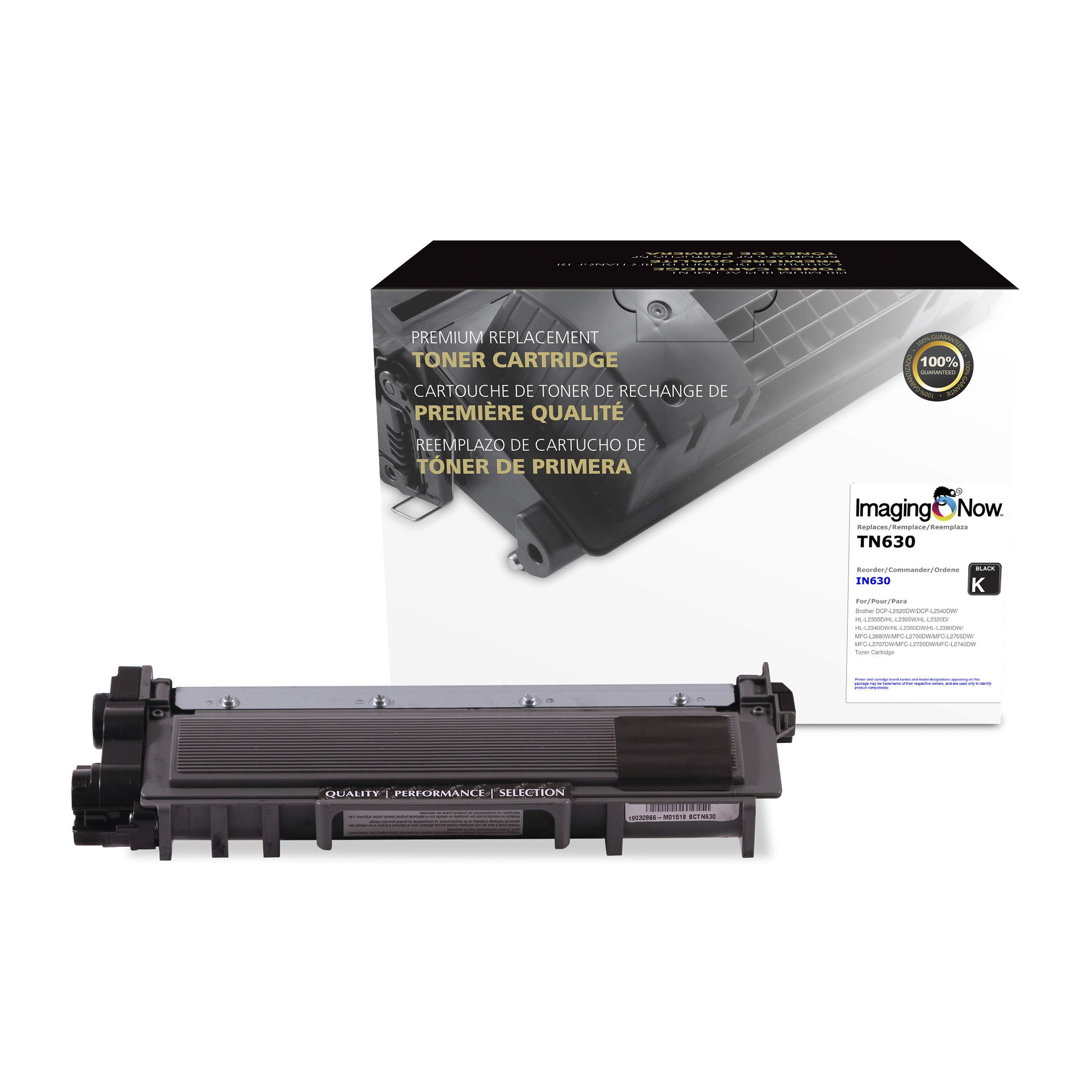 ImagingNow – Eco-Friendly OEM Compatible TN-630 Premium Toner Cartridge Replacement for Brother Printers