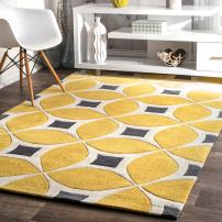 nuLOOM Gabriela Contemporary Area Rug, 4' x 6', Sunflower
