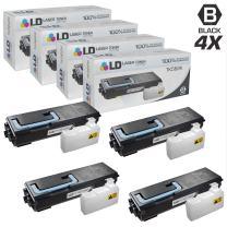 LD Compatible Toner Cartridge Replacement for Kyocera TK562K (Black, 4-Pack)