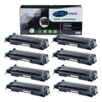 DIGITONER Compatible CF226A Toner Cartridge – CF226A High Yield Toner Cartridge Replacement for HP Laser Printer – Black [8 Pack]