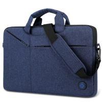 Laptop Bag,BRINCH Slim Water Resistant Laptop Messenger Bag Portable Laptop Sleeve Case Shoulder Bag Briefcase Handbag with Strap for Up to 15.6 Inch Laptop/Notebook Computer Men/Women,Blue