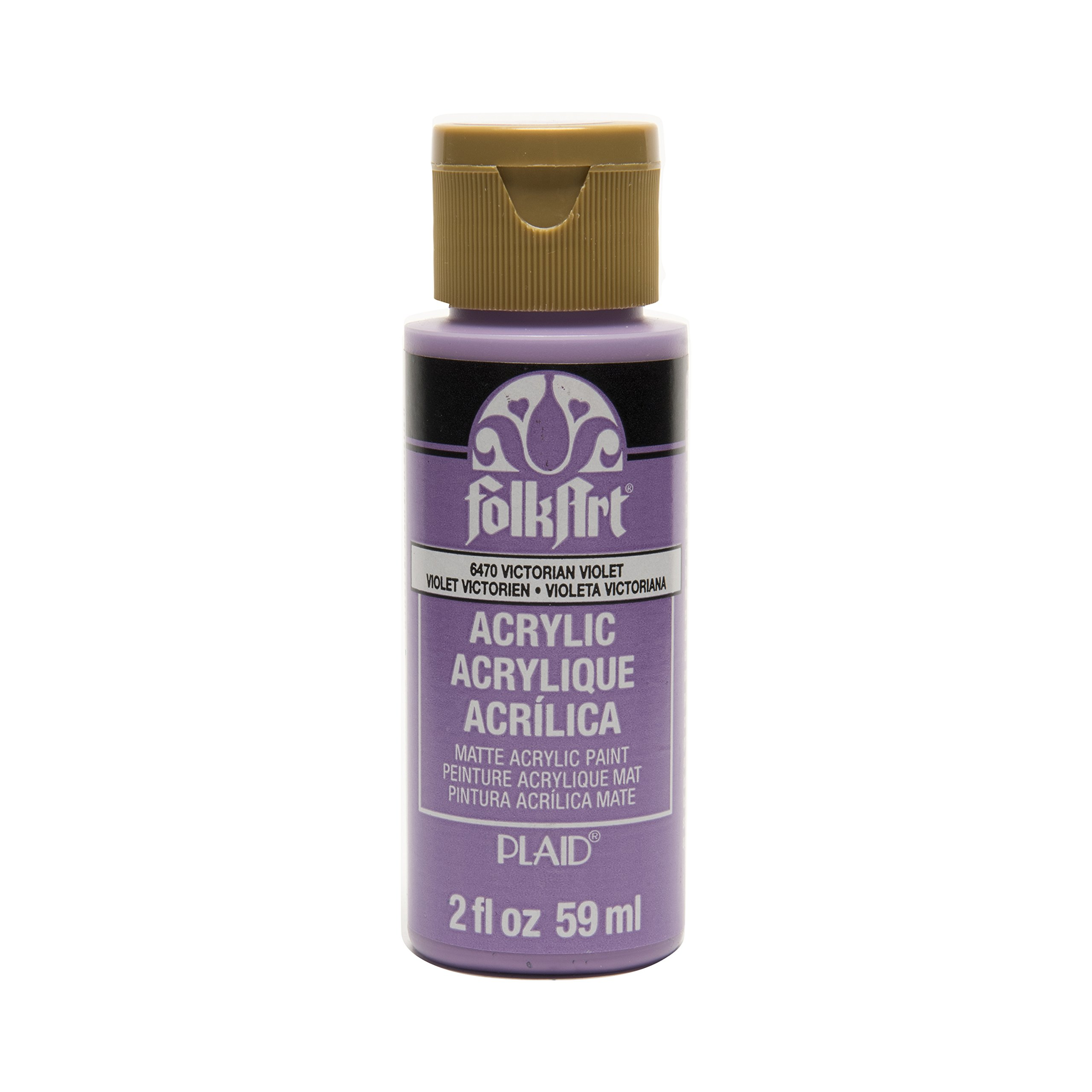 FolkArt Acrylic Paint in Assorted Colors (2 oz), , Victorian Violet