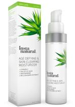 Vitamin C Skin Clearing Face Moisturizer - Anti Aging Formula with Salicylic Acid - Natural & Organic - Acne, Wrinkles, Fine Lines & Hyperpigmentation Defying Product - InstaNatural - 1.5 oz