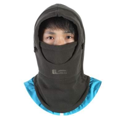 Winter Thermal Fleece Scarf Ski Face Mask Neck Warmer Snood Hoods Balaclava Hat