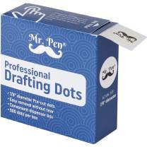 Mr. Pen- Professional Drafting Tape, 500 Pieces Drafting Dots, Art Tape, Tape Dots, Artist Masking Tape, Drafting Supplies, Architectural Dots Tape, Stationary Tape, Tape for Art and Drawing Paper