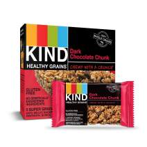 Kind Healthy Grains Granola Bars, Dark Chocolate Chunk, 1.2 oz 5-Count